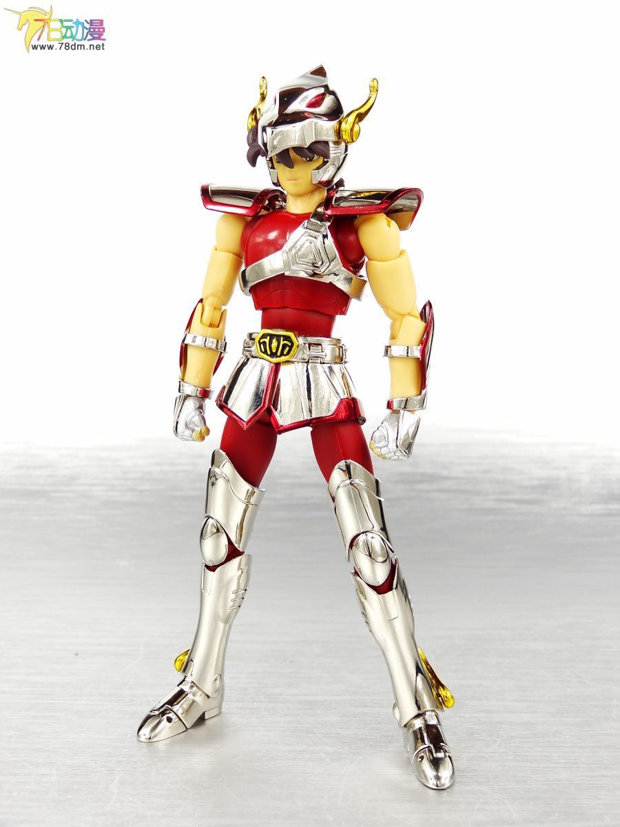 Spot / Saint Seiya Athena / KING model /The first generation of Pegasus /helmet Seiya /Metal Armor Casual clothes free shipping(China (Mainland))