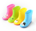 Baby Kids Fashion Rain Boots New Cute Cartoon Children Winter Warm Snow Rainning Boots For Girls