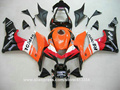 Hot sale fairing kit for Honda injection molding CBR600RR 07 08 orange black motorcycle fairings set