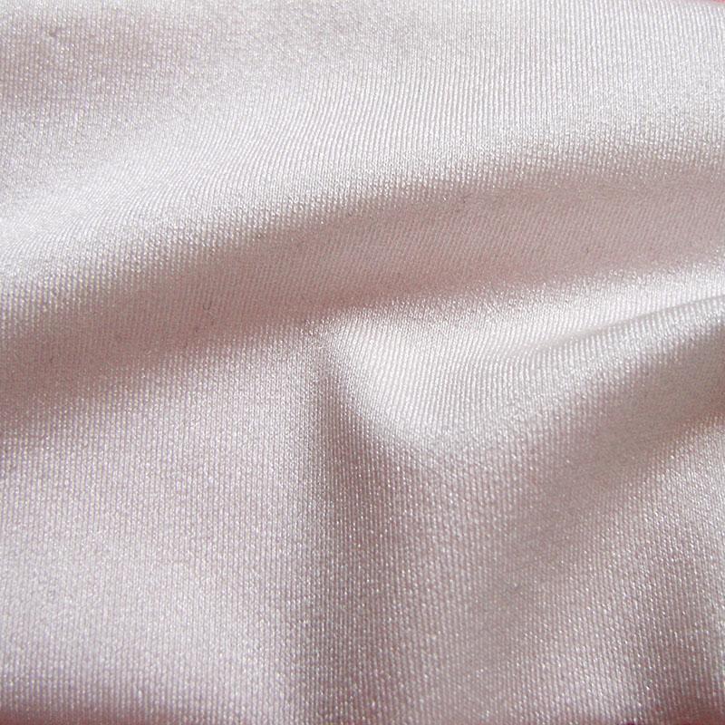 Luxurious Mercerized Spandex High Stretch Fabric Smooth Slim Evening Dress Trilobal Nylon Black Yoga Sport Apparel Sewing Cloth(China (Mainland))