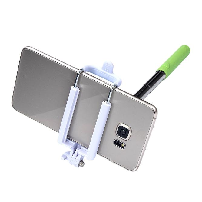 image for Hot-sale New Portable Handheld Wired Extendable Shutter Remote Self-Po
