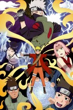 Naruto —2016 Hot sale Japanese Anime Home Decor Scroll Paintings Art Canvas Wall Picture