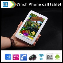 10pc/lot Cheapest Dual-core All Winner Boxchip A23 2G 7inch Wifi Tablet PC Capacitive Screen RAM 4GB Android 4.2 Dual Camera