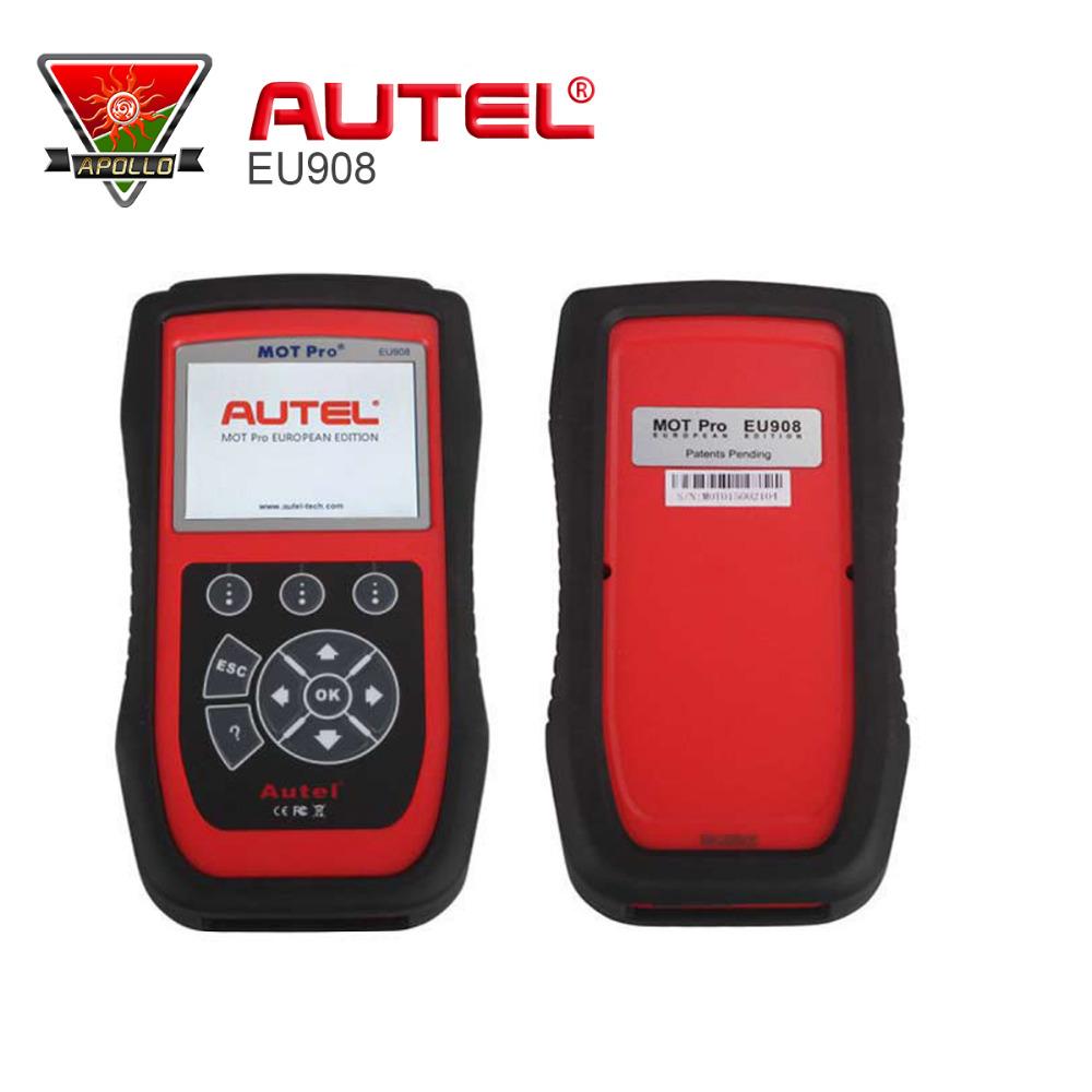 (Authorised Distributor)Autel MOT Pro EU908 Multi-Functions Scan Tool EPB for Domestic, Asian & European Vehicles Update Online(China (Mainland))