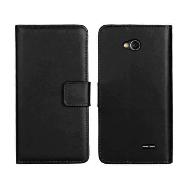 Case LG L 70 single SIM solid leather cell phone cases flip wallet protective covers bags Retail - CHT Factory Direct Sale Window store