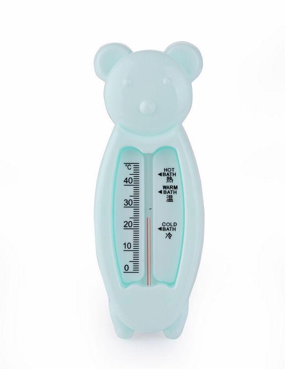 0-40 Babies Bath Water Thermometers Cute Cartoon Bear Shape Hot Sell Design wd-1(China (Mainland))