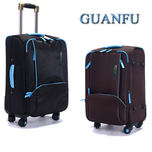 Quality commercial oxford fabric trolley luggage travel bag luggage bag luggage universal wheels(China (Mainland))