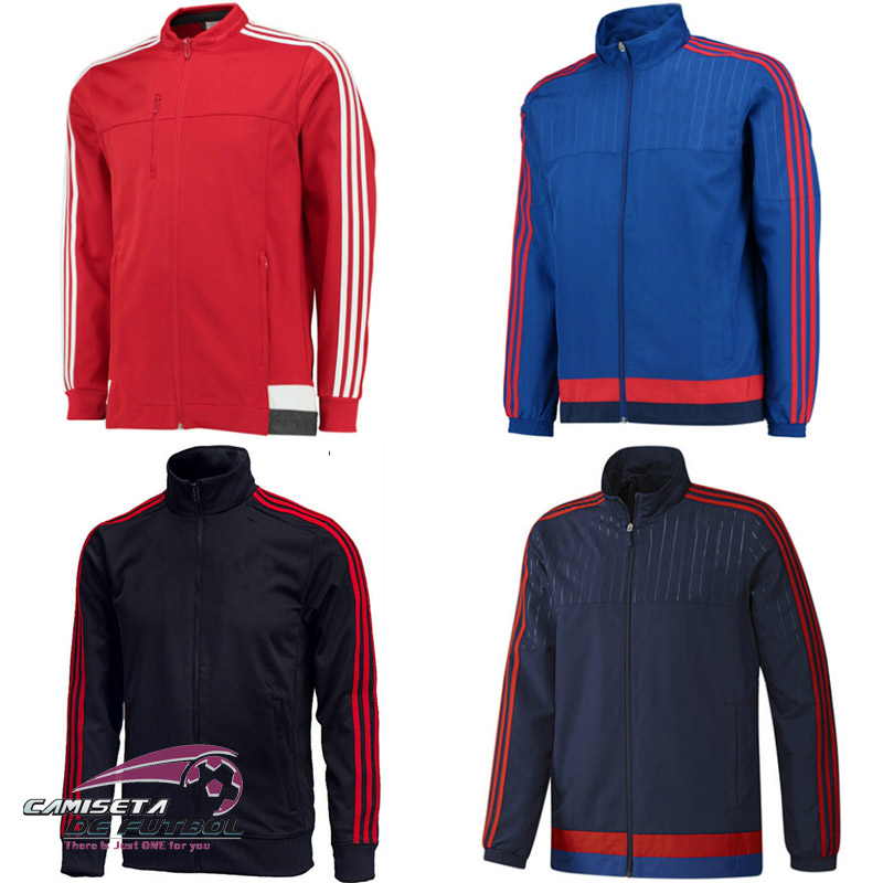 2015032 New 15 16 United Tracksuit and Jacket with Pants Training ROONEY MEMPHIS Soccer Jerseys Thailand Quality Free Shipping(China (Mainland))