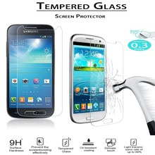 GT-i9190 i9192 S4 Mini Glass Film 9H Round Edge High Definition Screen protector Tempered Glass for Samsung Galaxy S4 Mini