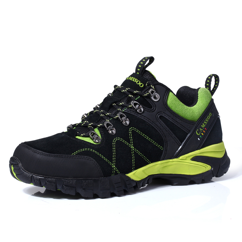 Camssoo Brand Mens Sports Outdoor Hiking Trekking Shoes Sneakers Men Climbing Mountain Man Senderismo
