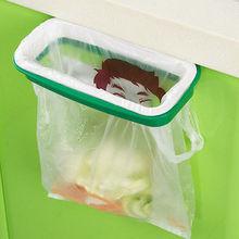 Folding Hanging Trash Rubbish Bag Holder Garbage Rack Cupboard Storage Hanger(China (Mainland))