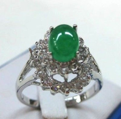 FREE SHIPPING>>>4 color-charming red/purple/blue/green zirconia/opal/jade CZ ring US#7,8,9 exit(China (Mainland))