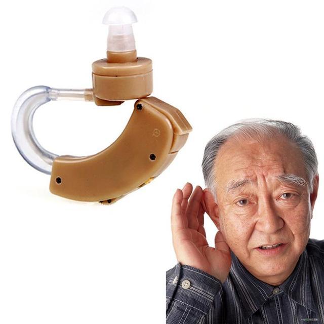 1 шт. лучший цифровой тон слуховые аппараты аппарат за ухо усилитель звука регулируемая #LY069