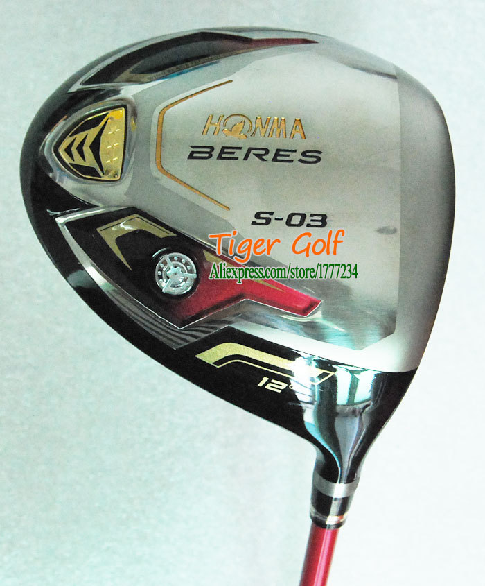 New Golf Clubs Honma BERES S-03 Golf driver 12 loft with Golf Graphite shaft and Golf wood headcover Free shipping(China (Mainland))
