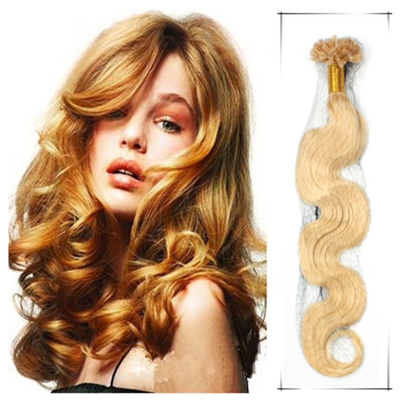 2pcs/lot Full Head Set Maxim Volume Remy Pre Bonded Hair 100g 20Inch/50cm Wavy Shedding And Tangle Free <br><br>Aliexpress