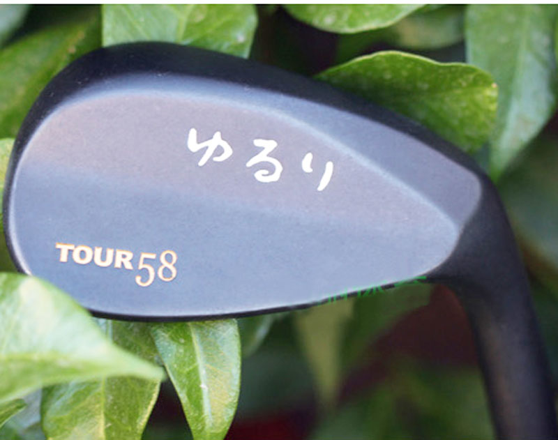 Hot sale New Golf head Yururi TOUR wedges Heads 3pcs/lot in 52/56/60/ degree clubs head (No Shaft )Free shipping<br>