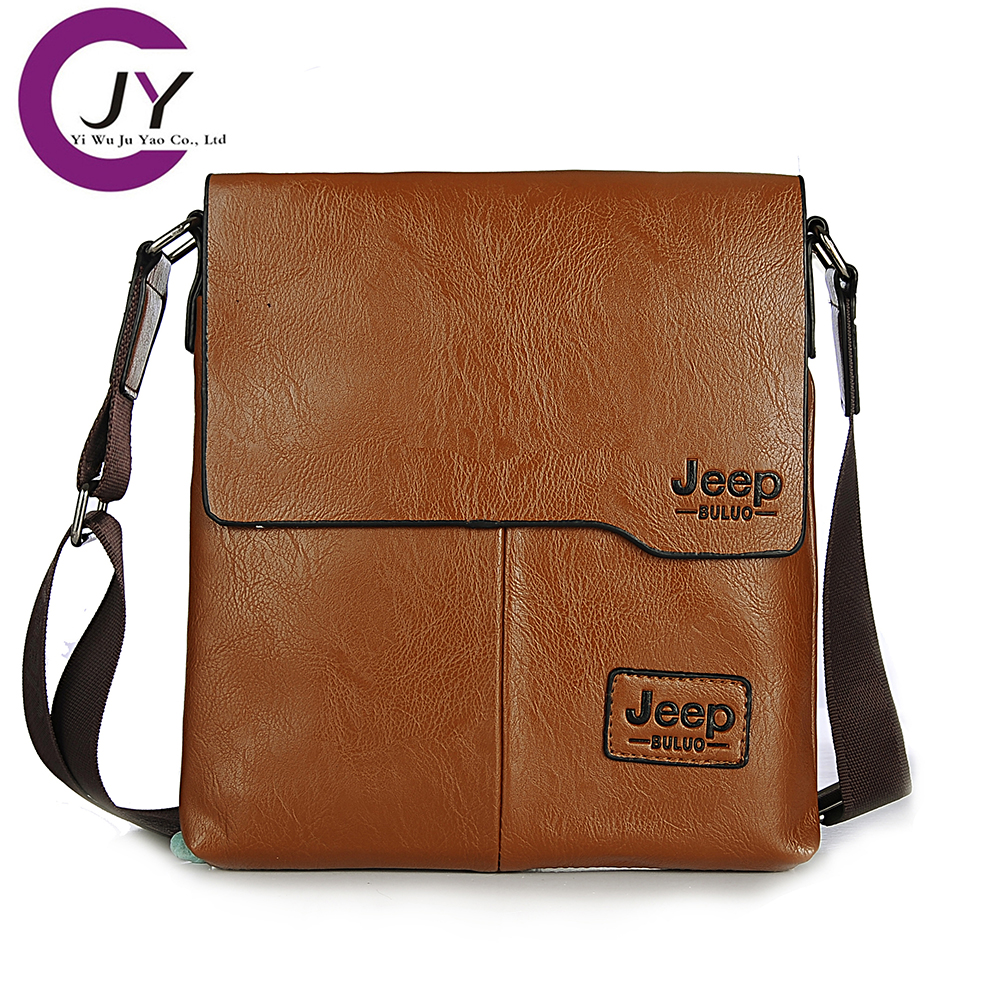 JuYao 2016 NEW Man clutch Genuine Leather bag designer crossbody bags design cowhide male messenger - POLG JUYAO official store