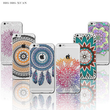 Buy I5 5S I6 6S Pretty Case For iPhone 5 5S SE 6 6S Colorful Floral Paisley Flower Mandala Henna Clear Silicone Soft Cover Fundas for $1.29 in AliExpress store