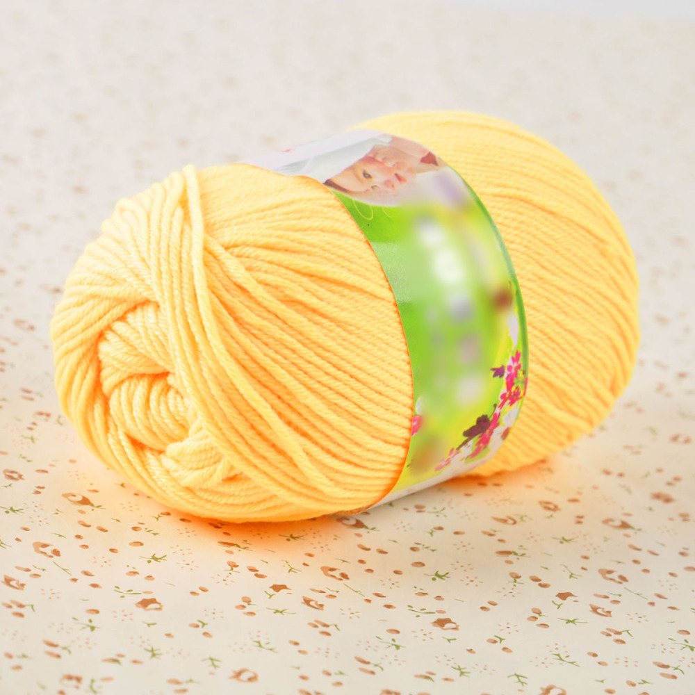 50g Super Soft Double Knitting Eco-friendly Dyed Natural Wool Acrylic Colours Yarn Ball Baby Yarn For Knitting a2