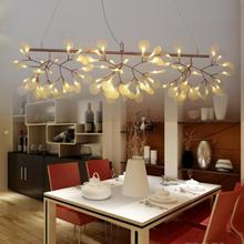 moooi bertjan pot Heracleum chandeliers rectangle L1M design LED lamp drop lighting suspension snowflake leaf firefly light(China (Mainland))