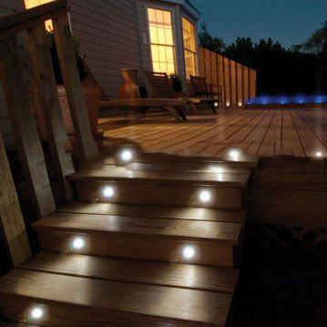 New 12V DIY IP67 Stainless Steel Dismountable Round Inground LED Step Light