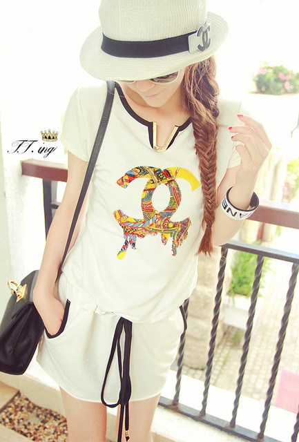 Newest Women's Ladies Summer New Fashion Branded Sashes Decorated Women Dress free shipping
