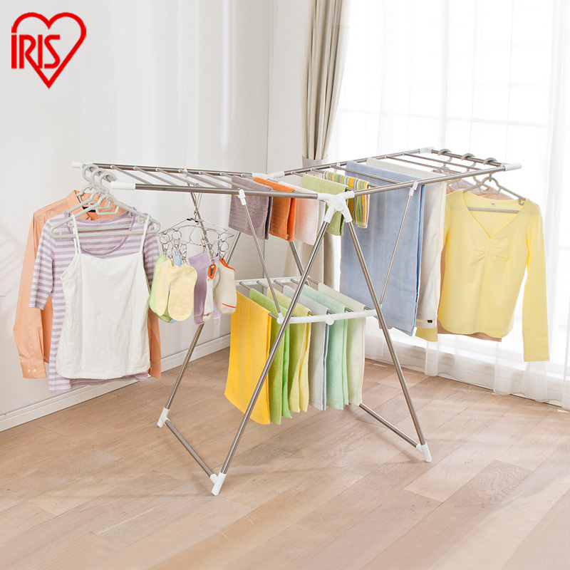 For alice floor iris stainless steel folding drying rack quilt retractable airedales(China (Mainland))