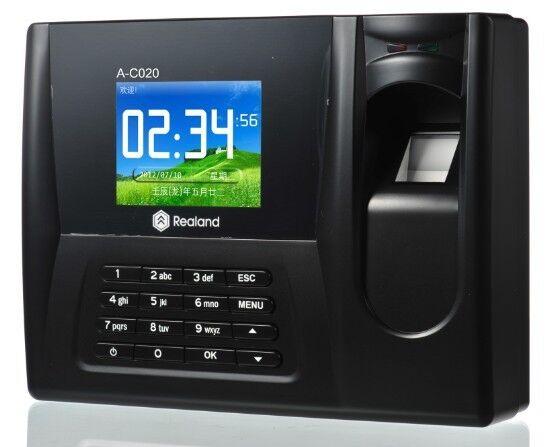Free Ship,biometric fingerprint, Realand 3.5 Color TFT color  Screen, Fingerprint  &amp; em card, with TCP/IP,USB  sn: A-C020T<br><br>Aliexpress