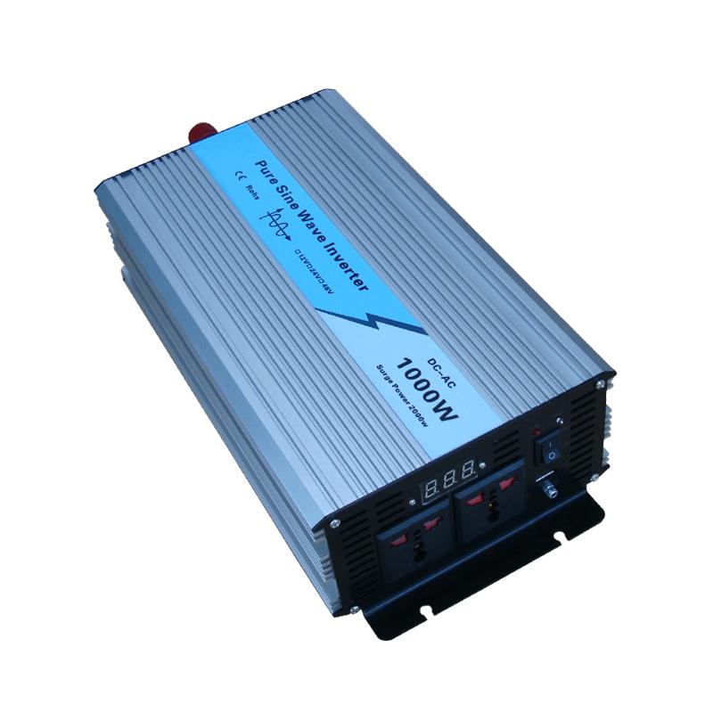 Pure Sine Wave Car Power Inverter 4000W Dc12v/24v To Ac 220v Car Converter Inverters For Solar Boat Home Appliances