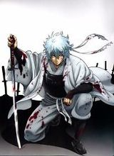 Free shipping Gintama The Movie Sakata Gintoki Japan Anime Art Silk Posters 24×33″ Gin8