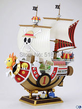 Anime One Piece Thousand Sunny Pirate ship Model PVC Action Figure Collectible Toy 35CM OPFG085(China (Mainland))
