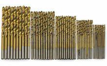 50 шт. С Титановым Покрытием HSS Высокоскоростной Стали Сверло Набор Инструментов 1/1. 5/2/2.5/3 мм Бесплатная Доставка
