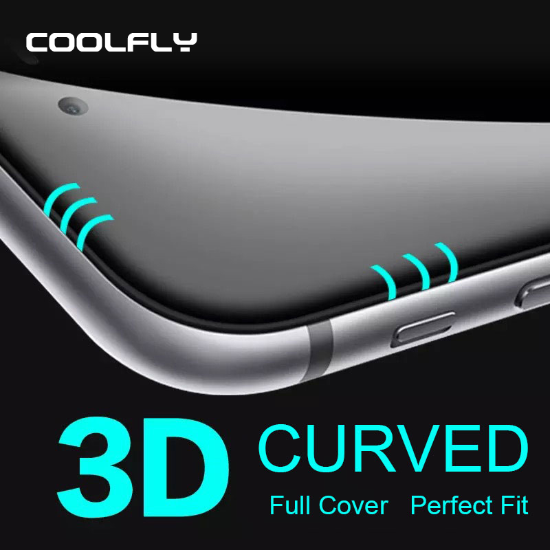 """For Iphone 6 6s plus 0.2mm Full Cover Curved Edge 3D Tempered Glass Screen Protector Protective 4.7"""" 5.5"""" Film Retail Package(China (Mainland))"""