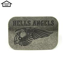 Fashion Hells Angels Man Knot Cowboy Belt Buckle Metal Belt Boucle Homme Cowboy Belt Buckle Belt Hebillas Para Cinturones Fivela(China (Mainland))