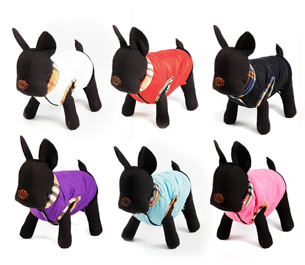 Wholesale!Dog Clothes Winter Warm Padded Thick Dog Coat Jacket Puppy Cat Clothing Manufacturer Pet Apparel Products For Animals(China (Mainland))