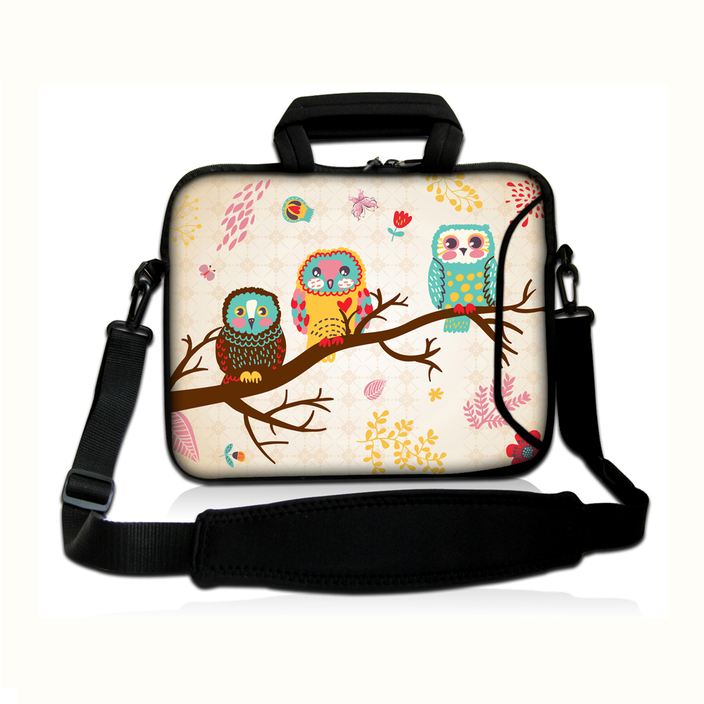 Laptop Bag 10 12 13 14 15 17 inch for MacBook Dell Samsung Hp Asus Lenovo General Use with Removable Strap and Handle Design.(China (Mainland))