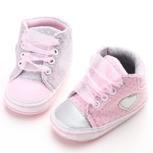 Newest Newborn Baby Girls Princess Spring First Walkers Sneakers Casual Infant Toddler Shoes(China (Mainland))