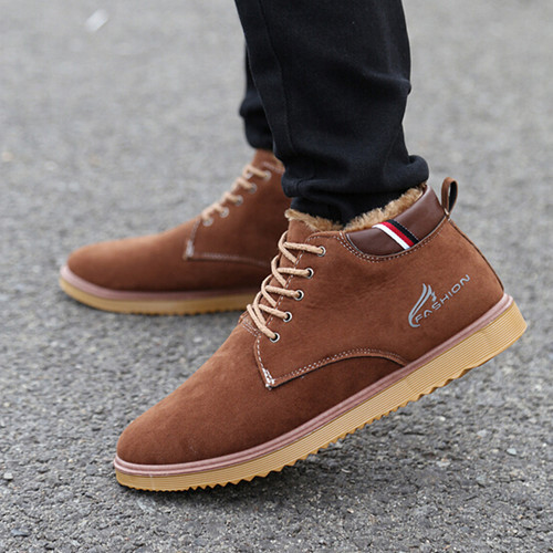 Free shipping 2015 New England winter Men shoes fashion Men high-top shoes Men winter Boots cotton padded shoes<br><br>Aliexpress