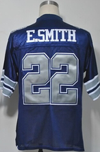 TROY AIKMAN Roger Staubach Emmitt Smith DEION SANDERS Tony Dorsett Michael Irvin Men's Throwback Jersey Size 48-56(China (Mainland))