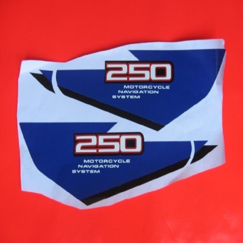 Livraison gratuite hors route moto Stickers autocollants pour Suzuki DJEBEL 250 Type 2(China (Mainland))