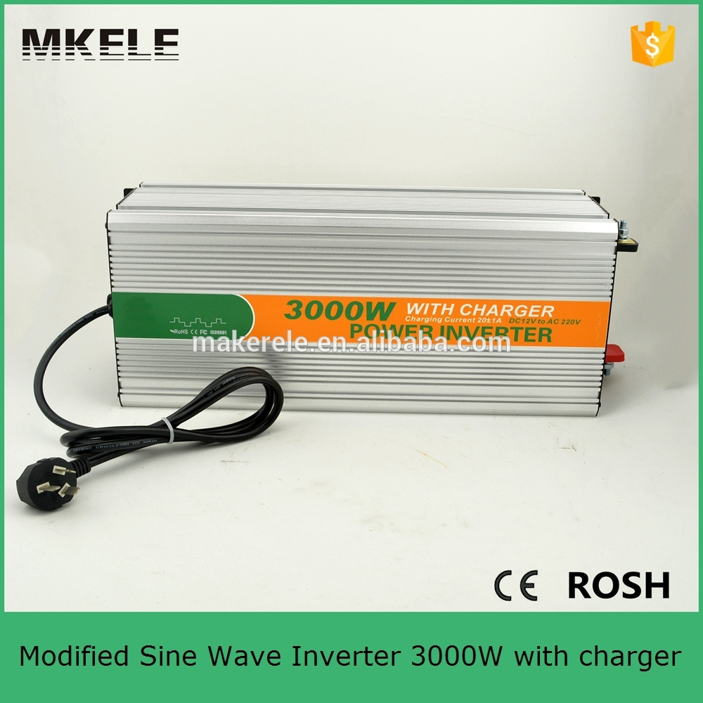 MKM3000-241G-C dc/ac modified sine wave 24vdc to 120vac inverter,3kw inverter 24v 3000w inverter with charger(China (Mainland))