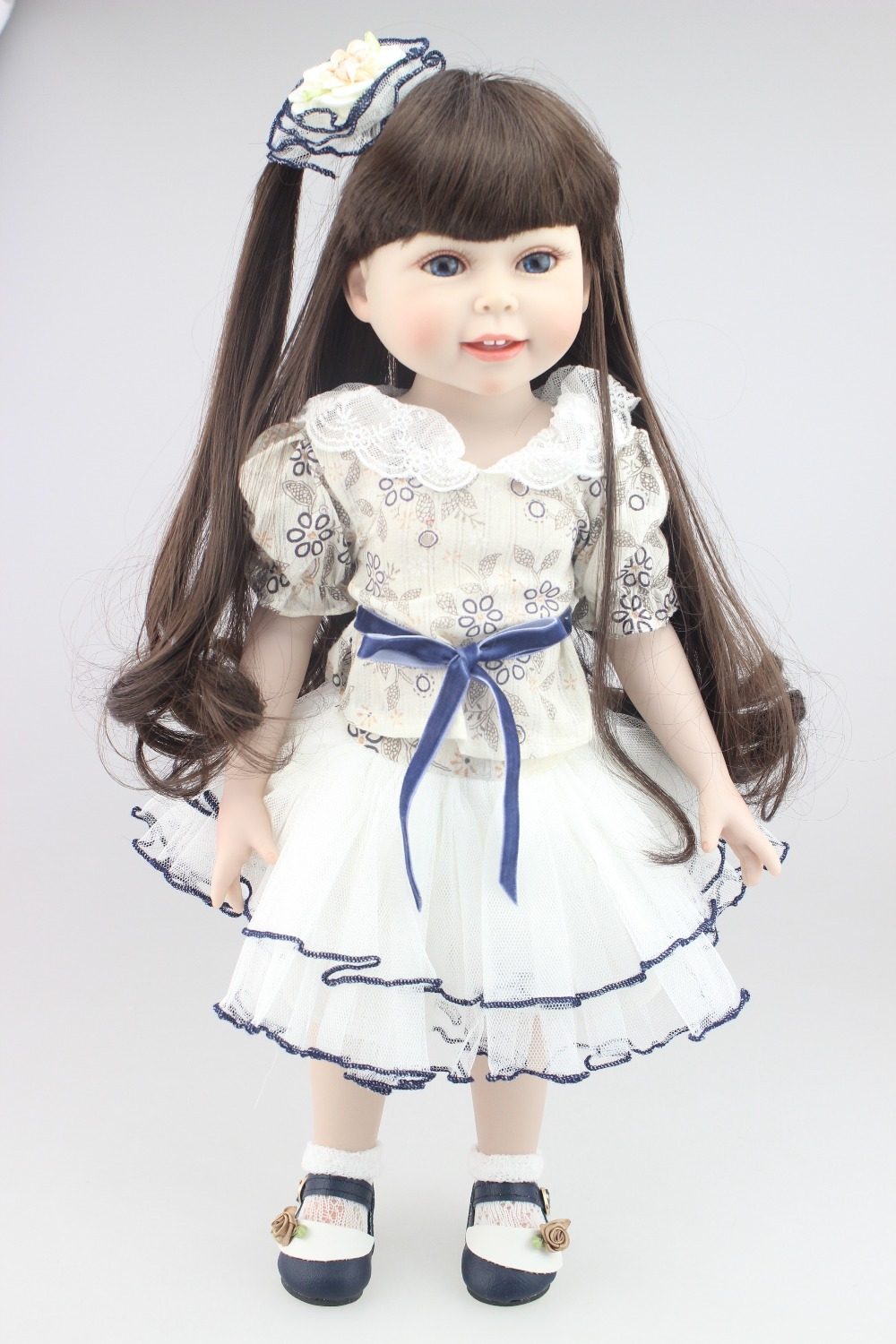 2016 SD DOLL New design most popular 18inches fashion angel play doll education toy for girls birthday Gift(China (Mainland))