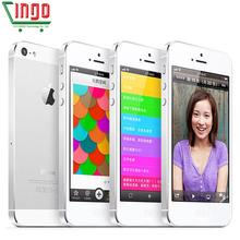 100% original iPhone 5 original unlock used mobile phone 8MP Camera 16GB/32GB ROM Wifi GPS WCDMA 3G Used iphone5 Drop Shipping