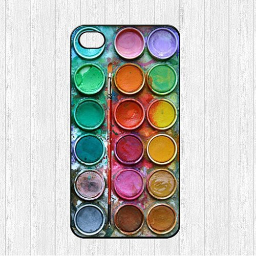 """The Classic Color Palette Paintbox Skin Case Custom Printed Brand phone Accessories Cover for iPhone 4 4s 5 5s 5c 6 6plus5.5""""(China (Mainland))"""