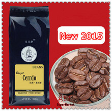 New 2015 100 Arabica Coffee Beans Cooked Coffee Bean Fresh Baked The Brazilian Cerrado Coffe Slimming