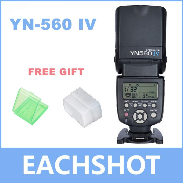 Yongnuo YN-560 IV Flash Speedlite for Canon Nikon Pentax Olympus DSLR Cameras YN560 4 560VI upgrade version of YN560 II YN560III(China (Mainland))
