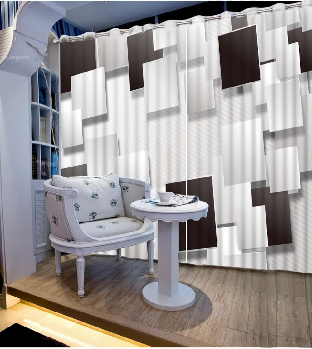 Decor dubbele gordijnen - Gordijnen voor moderne woonkamer ...