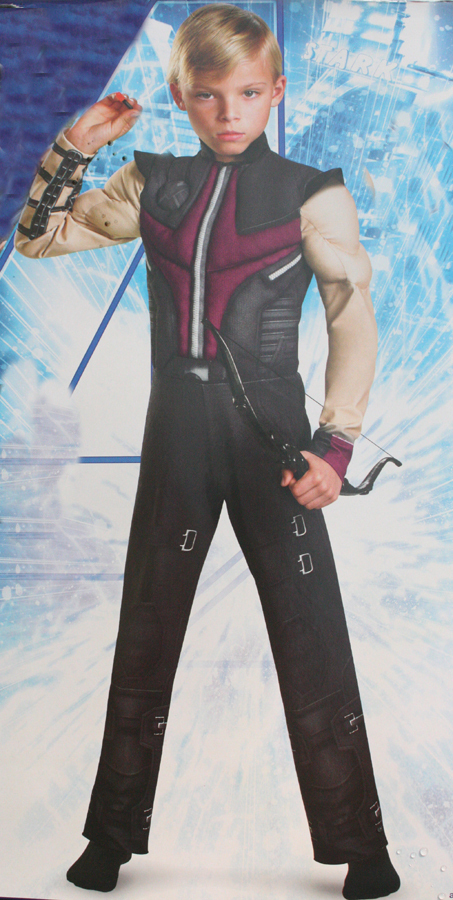 ... Hawkeye costume,The Avengers superhero clothes haw keye costume from