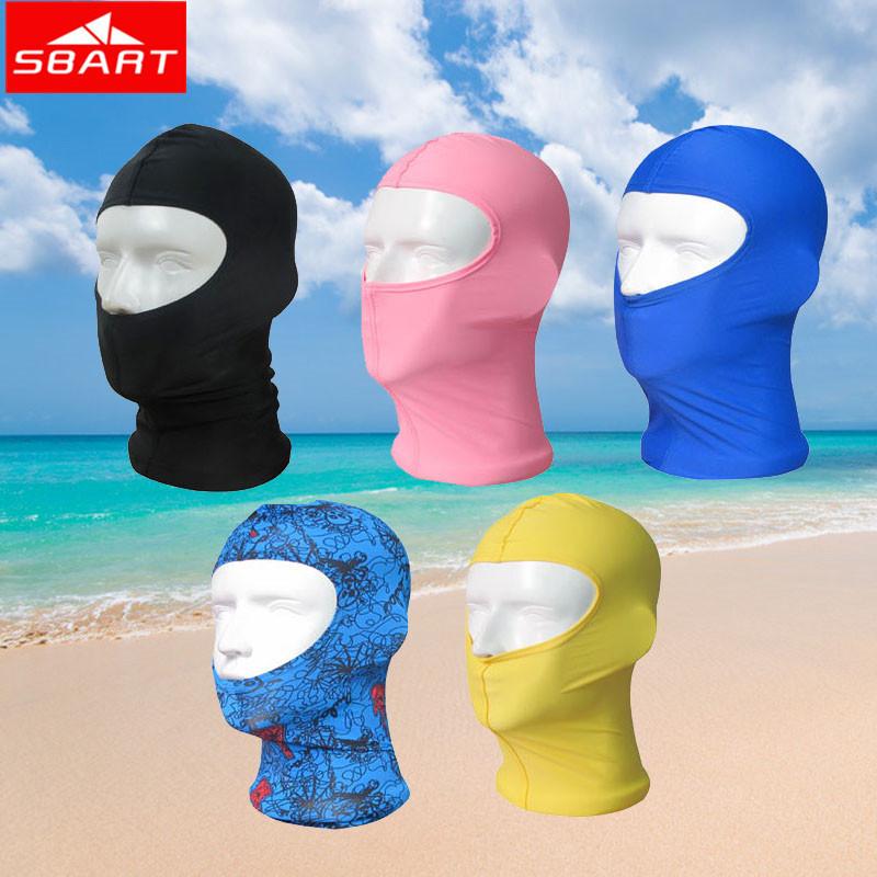 SBART 2015 Facekini Women Swim Hat Floral Print Nylon Swimming Caps Unti Jellyfish Uv Upf50 Swim Cap Ear Protect Gorro Natacion(China (Mainland))