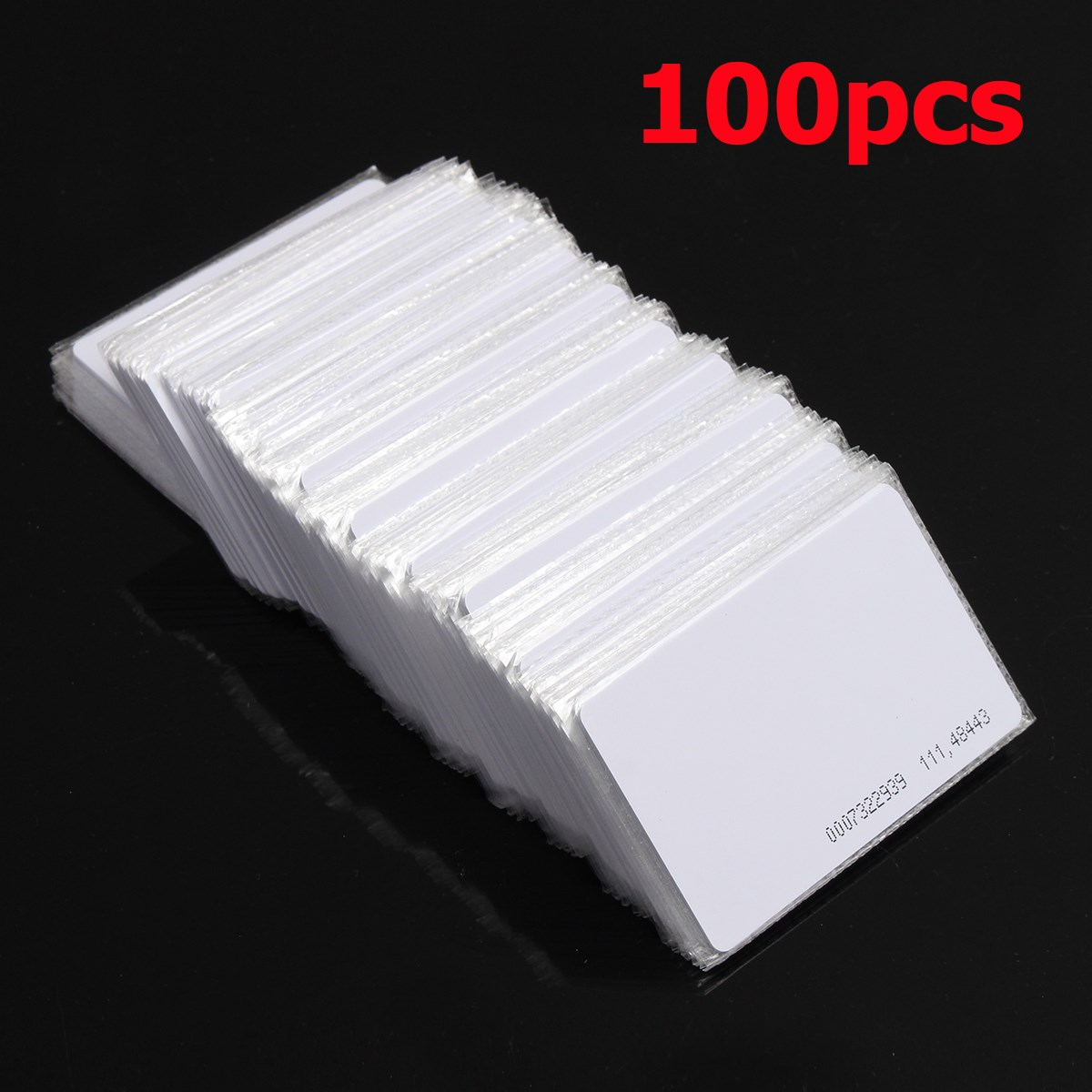 NEW 100pcs RFID 125KHz Proximity Door Control Entry Access EM card-0.9mm- card(China (Mainland))